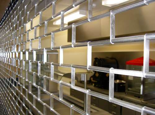 Chainlink Roller Grilles Contemporary Security Shutters