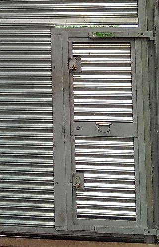 Heavyduty Industrial Security Roller Shutter Hvp Shutters
