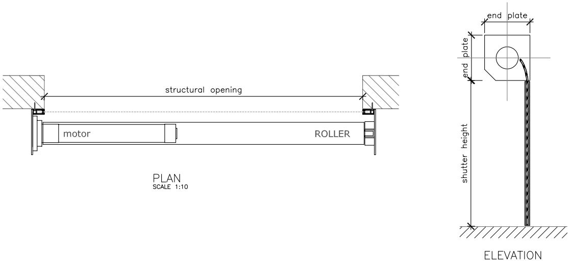 Rolling Door Cad Amp Folding Doors Quot Quot Sc Quot 1 Quot St Quot Quot Dwg Projects