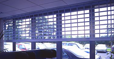 Seceurovision 900 Aluminium Roller Grille on viewguard screenguard roller shutter