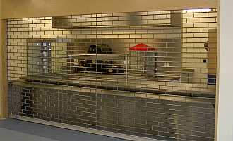 servery roller grille
