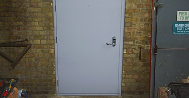 Steel Doors Hinged Security And Fire Doors