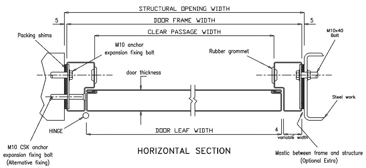 Door Plan Bottom Guide In Track Trolley Hanger Bottom