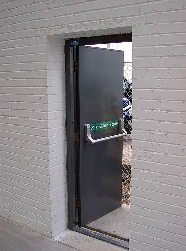 Steel Security Doors & Steel Doors - hinged security and fire doors