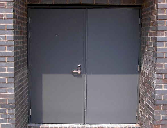Steel Doors Hinged Security And Fire Doors